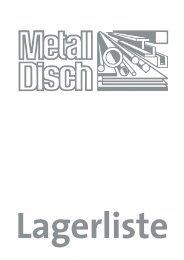 aluminium-rundstangen - Metall Disch