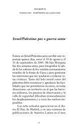 Israel/Palestina: paz o guerra santa - Prisa Ediciones