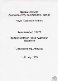 AWM95, 7/9/21 - Australian War Memorial