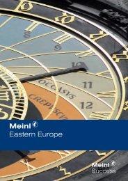 Meinl Eastern Europe - Meinl Success Finanz AG