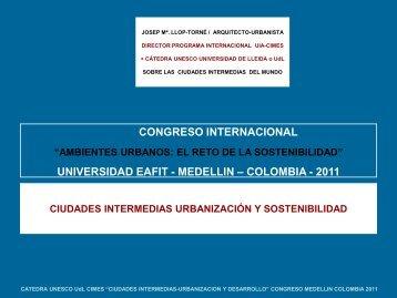Josep María Llop Torné - Universidad EAFIT