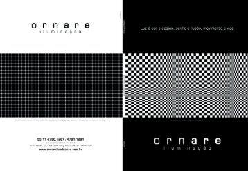 faça o download do catálogo - Ornare Iluminação