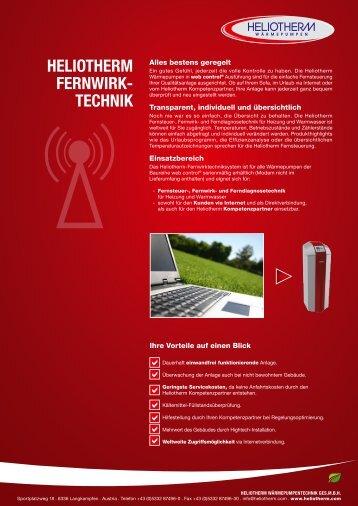 HELIOTHERM FERNWIRK- TECHNIK