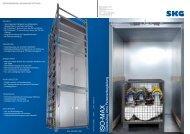 Güteraufzug ISO-MAX - SKG - Metallschneider GmbH