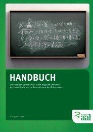 HANDBUCH - Grüner Aal