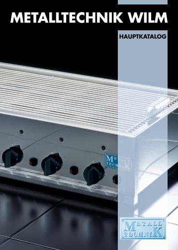 Hauptkatalog (ca. 1 MB) - Metalltechnik Wilm
