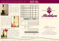 Zum Flyer - Weingut Achim Hochthurn