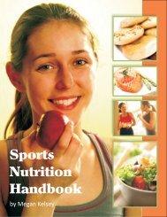 Sport Nutrition Handbook - Bowling Green State University