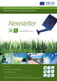 EU Green Public Procurement (GPP)