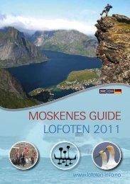 MOSKENES GUIDE LOFOTEN 2011 - Lofoten Islands