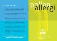 Pollenallergi - Norges Astma- og Allergiforbund