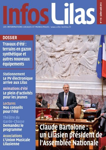 Claude Bartolone : un Lilasien président de l'Assemblée ... - Les Lilas