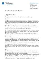 Aksjon Burot 2013 - Norges Bondelag