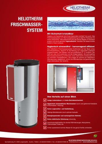 HELIOTHERM frischwasser- System