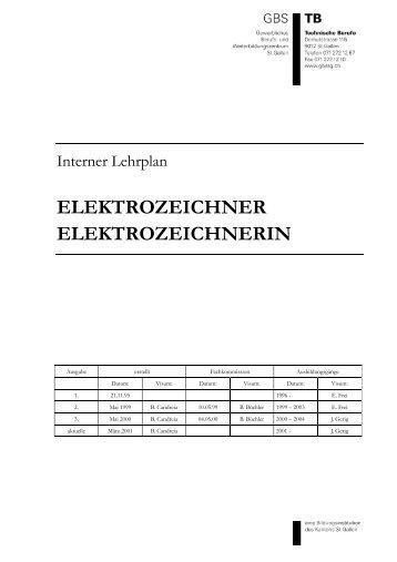 ELEKTROZEICHNER ELEKTROZEICHNERIN