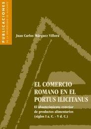 el comercio romano en el portus ilicitanus - Publicaciones ...