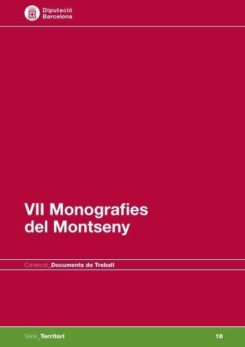 VII Monografies del Montseny - ICTA - Universitat Autònoma de ...