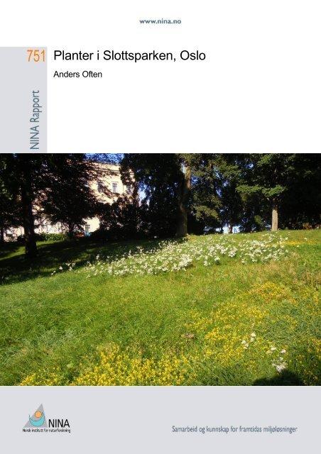 Planter i Slottsparken, Oslo - Nina