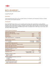 BUTYL CELLOSOLVE -- Technical Data Sheet - The Dow Chemical ...
