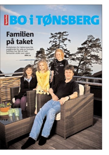 Byavisa Tønsberg 05.05.2009 Familien på taket - Kebony