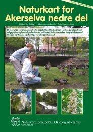 Naturkart for Akerselva nedre del - Norges Naturvernforbund