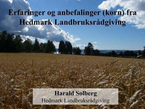 HEDMARK LR, Harald Solberg 2013