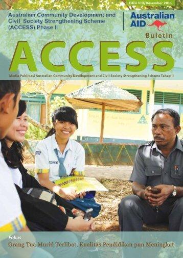 Edisi Kedelapan Desember 2011 - Access