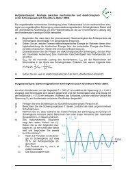 Elektromagnetische Schwingungen und Wellen - Melanchthon ...