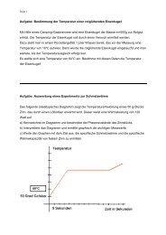 Aufbau der Materie und Wärmelehre - Melanchthon-Gymnasium ...