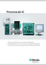 ProcessLab IC - Deutsche Metrohm GmbH & Co.