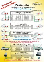 Download Preisliste - Ackermann Aufbauten