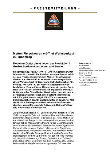als PDF - Metten.net