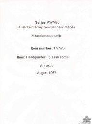 AWM95, 17/7/23 - Australian War Memorial