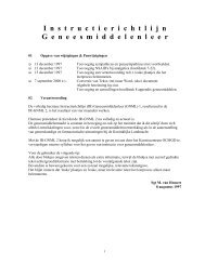 Geneesmiddelenleer - Boekje Pienter