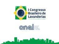 Palestras I Congresso Brasileiro de Lavanderias 27/05/2011 - Anel