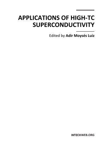 APPLICATIONS OF HIGH-TC SUPERCONDUCTIVITY