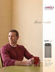 Lennox EL195 Elite 95% AFUE - Lakeside Heating & Air Conditioning
