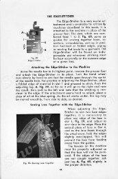 Singer Student Manual PartE5 - Sew-Classic.com
