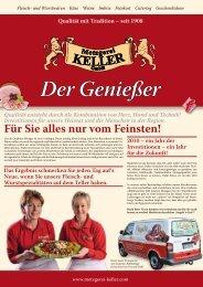 September 2010 ... - Metzgerei Keller