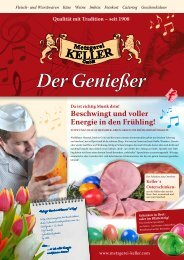März 2011 2011_03_geniesser_keller_screen.pdf - Metzgerei Keller