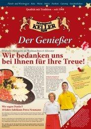 November 2009 2009_11_geniesser_keller.pdf - Metzgerei Keller