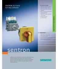 SENTRON 3LD Serisi Acil Stop Şalterleri - ema elektr?