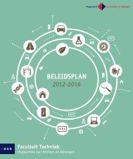 Beleidsplan Faculteit Techniek 2012-2016 - Hogeschool van ...