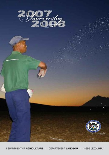 Departement van Landbou - Department of Agriculture: Western Cape