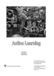 Transactiemodel voor action learning - Gert Jan Schop