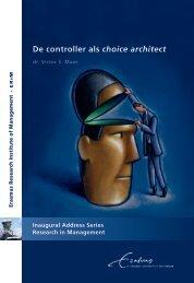 De controller als choice architect - RePub - Erasmus Universiteit ...