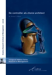 De controller als choice architect - RePub - Erasmus Universiteit ...