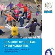 De school op digitale ontdekkingsreis, 150 ict ... - Kennisnet