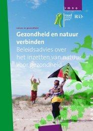 Natuur en gezondheid - Raad voor de leefomgeving en infrastructuur