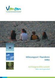Milieu, mens en gezondheid - Milieurapport Vlaanderen MIRA
